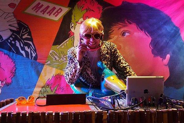 Carnaval met live muziek en live dj