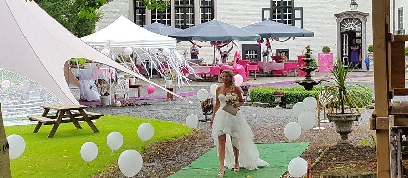 Bruiloft - Feest met live muziek en dj of misschien een themabruiloft!