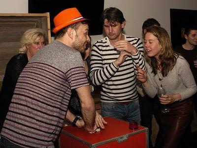 Weekendquiz - Hilarische spelavond met live muziek, live dj, decoratie & entertainment - Liever Live - De bibberspiraal, de marmottenbak