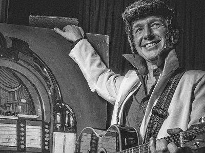 Rock Around the Clock - Rock & Roll jaren 60 themafeest - live muziek, live dj - liever live - Boogiewoogie met Elvis