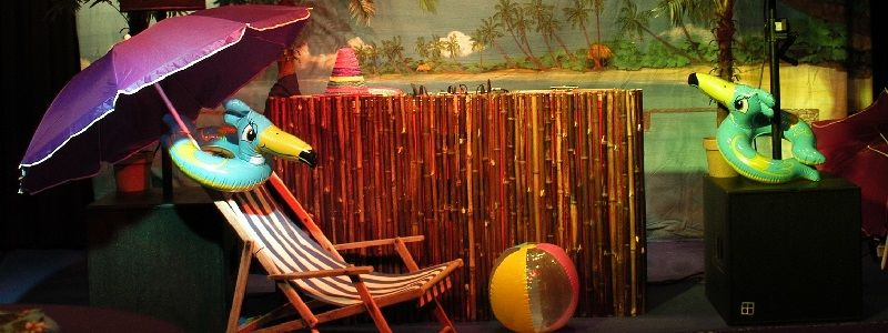 Tropical Times Themafeesten met live muziek & DJ - Liever Live