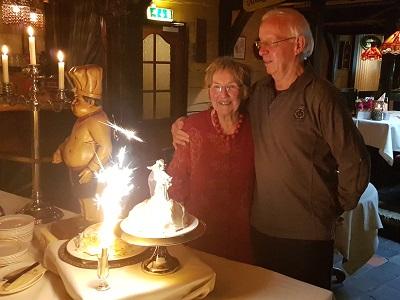 50 jaar getrouwd - gouden bruiloft met live muziek & dj - feest met liever live