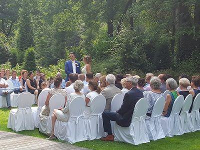 Bruiloftsfeest met Live Muziek & DJ - Uniek huwelijksfeest of live muziek tijdens de ceremonie- zanger & gitarist op jullie bruiloft