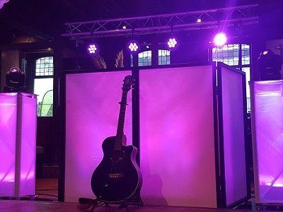 Trouwen of een ander feest met live muziek en dj - compleet verzorgd met professioneel geluid & licht - voor feesten, verjaardagen, evenementen, bedrijfsfeesten en themafeesten